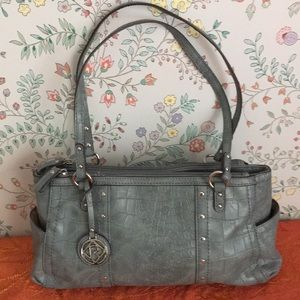 Relic blue grey hand bag